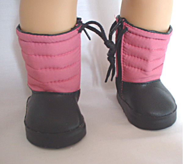 Pink Snow Boots