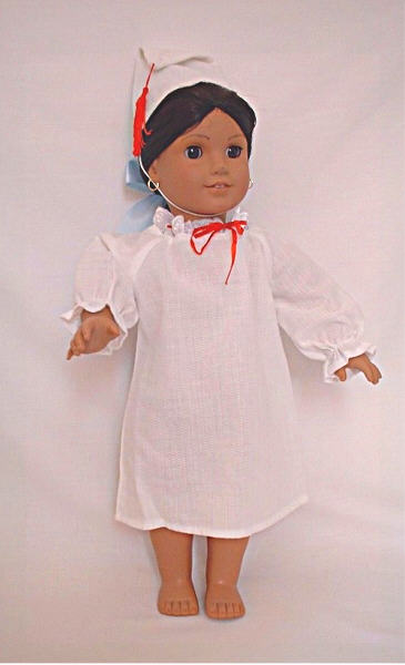 OFFER Mexican nightgown with cap