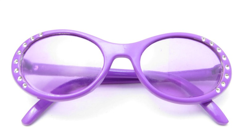 Lavender Bling Glasses
