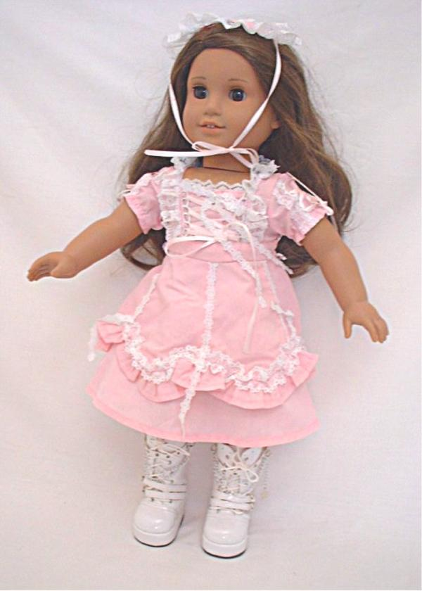 OFFER Lacy Pink Lolita Dress