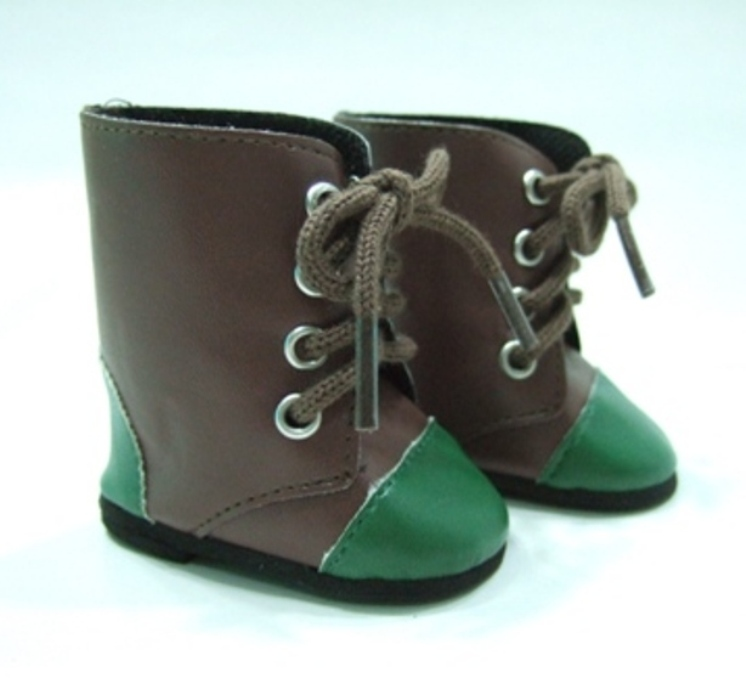 OFFER Two Tone Green Toed Boot