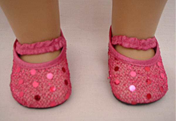 Light Pink Sequin Shoes