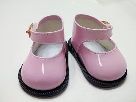 Pink Patent Mary Jane /