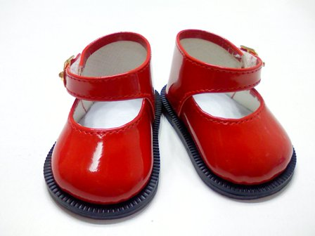 Red Patent Mary Jane /